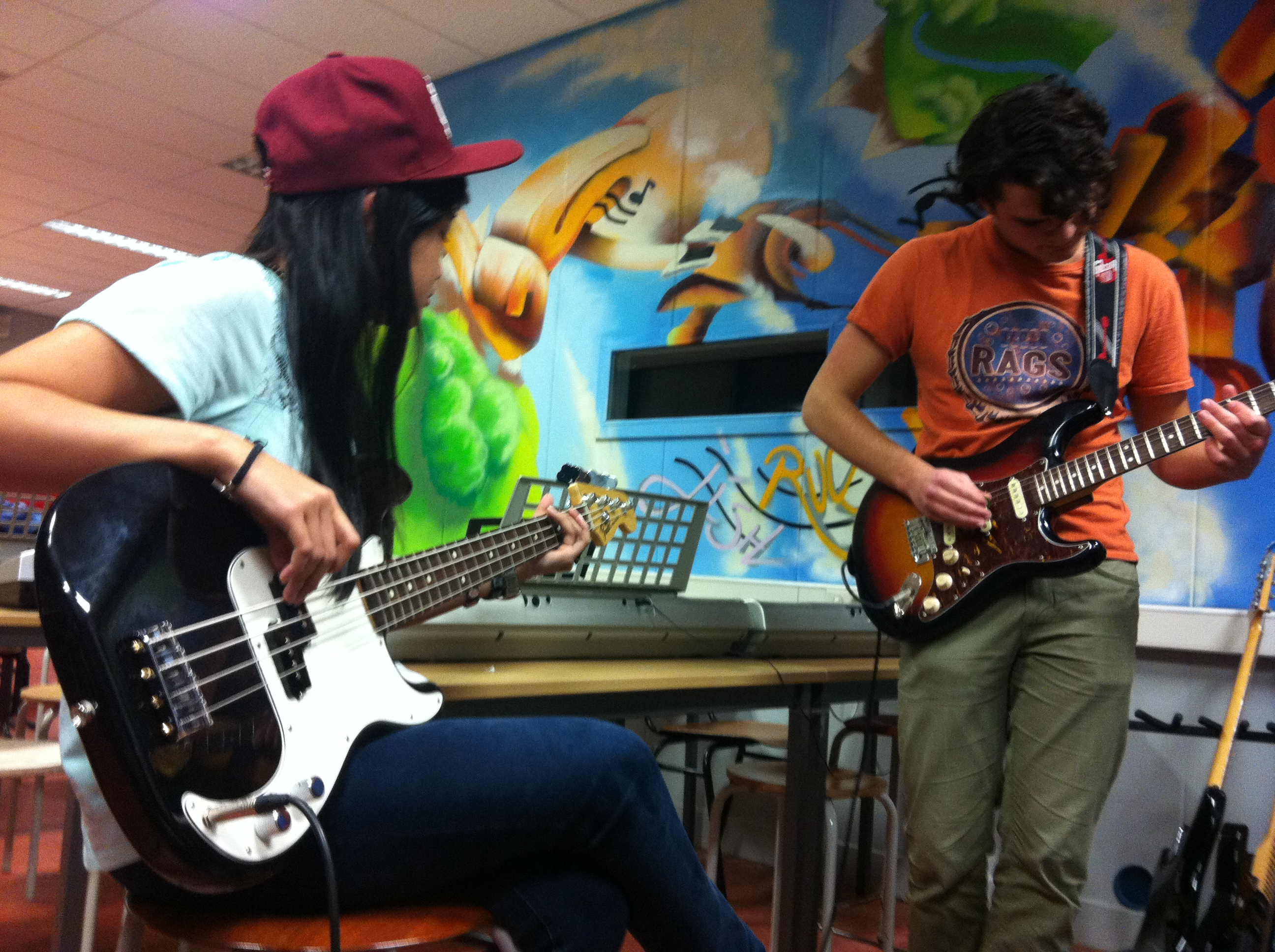 ROCKIT Music Productions muziek workshops CKV