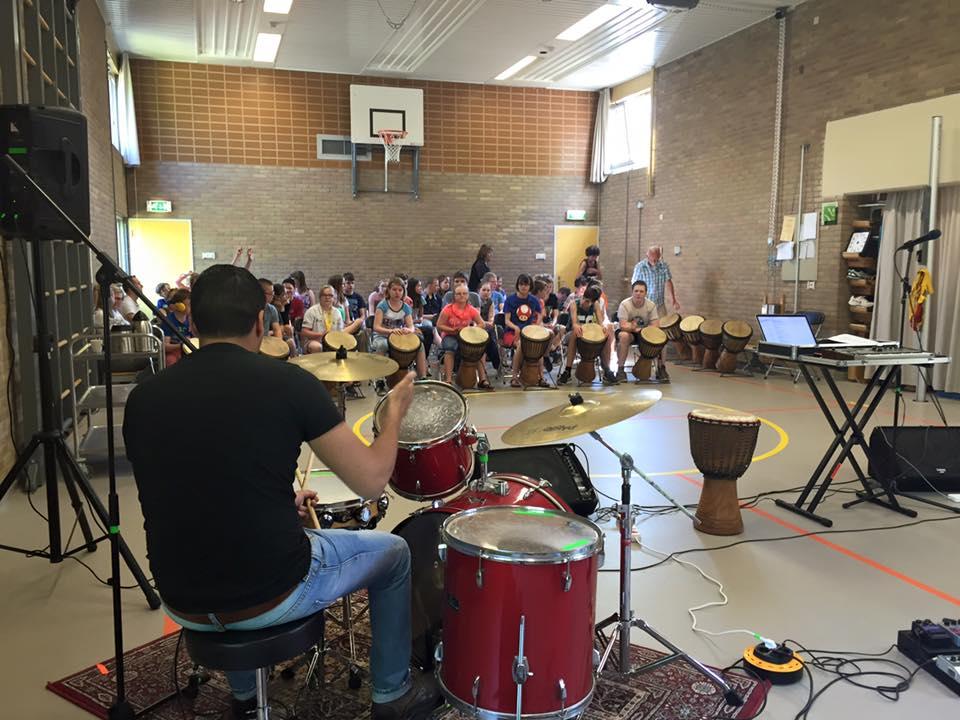 Masterclass Popband workshops speciaal onderwijs