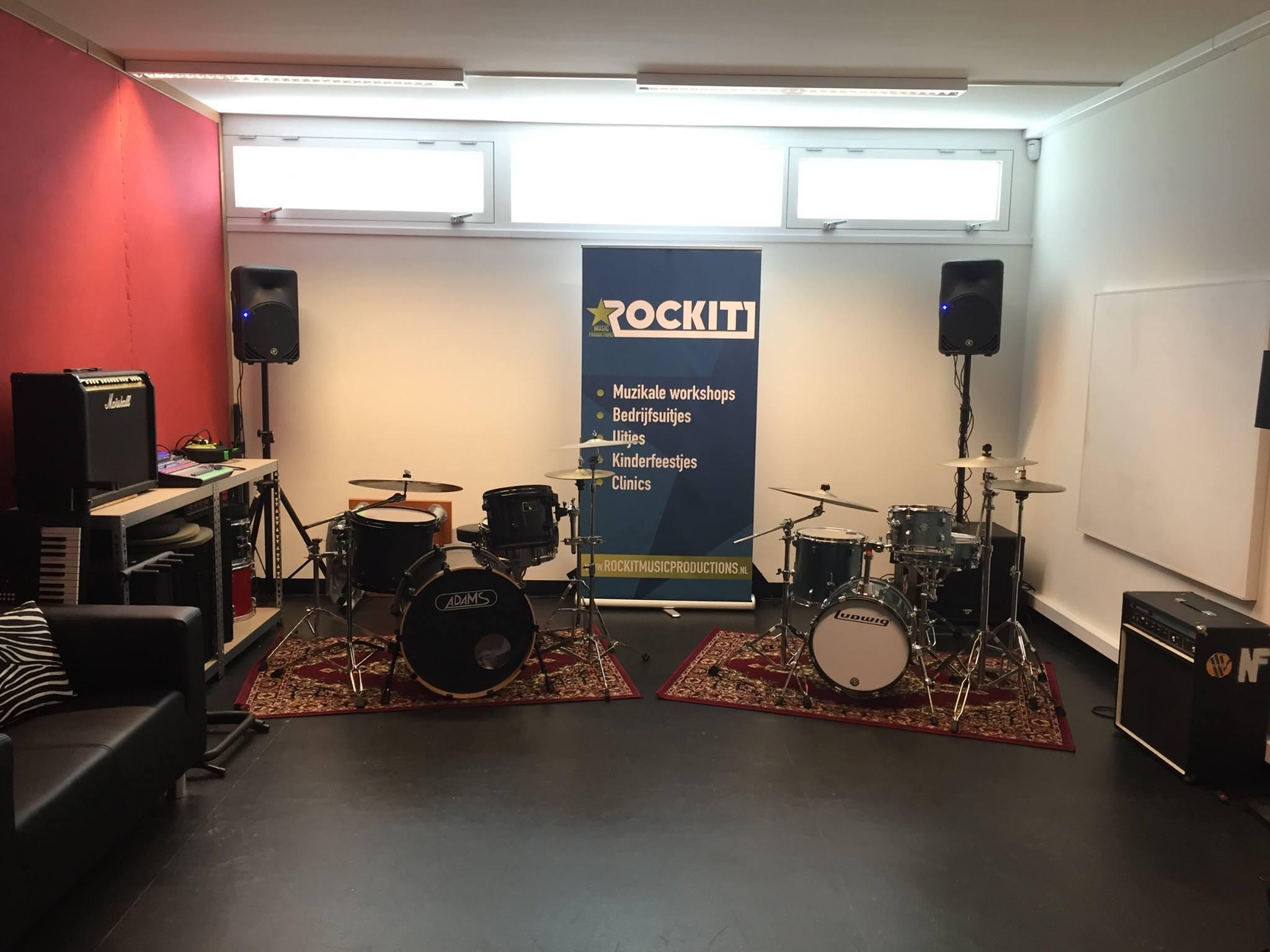 ROCKIT Music Productions lesruimte te huur Den Haag