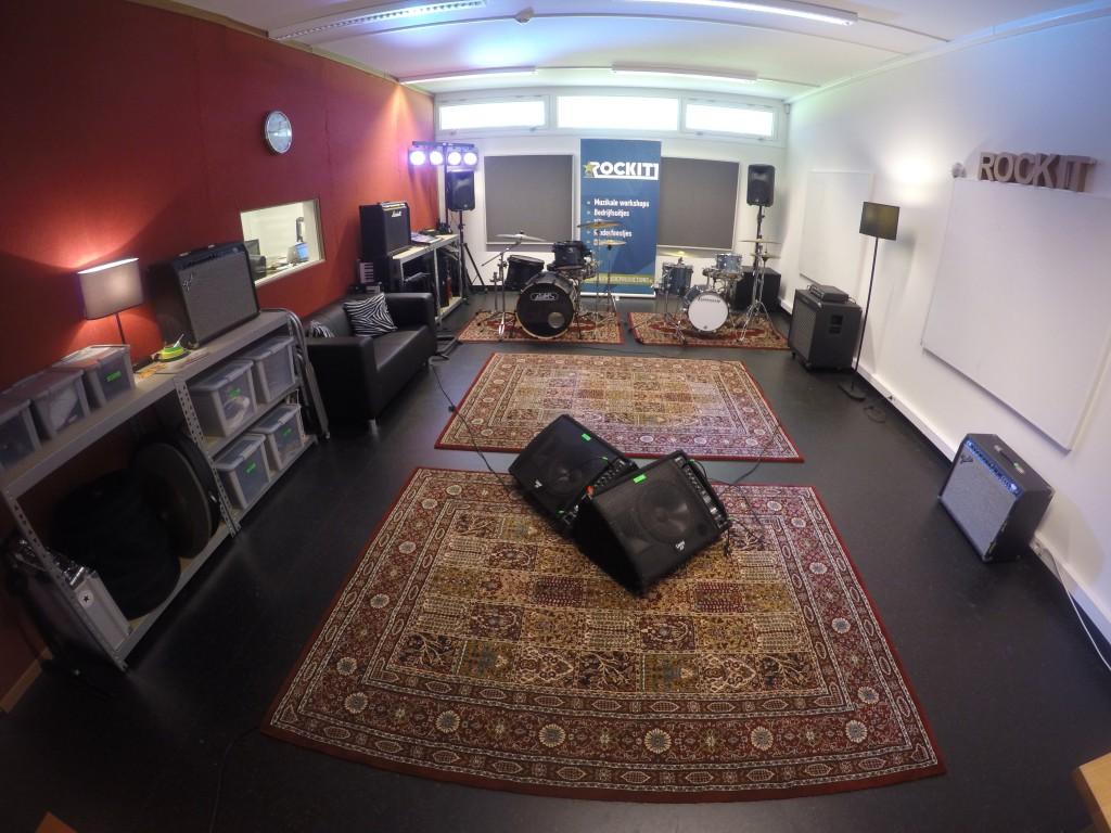 Oefenruimte Den Haag ROCKIT Music Studio's