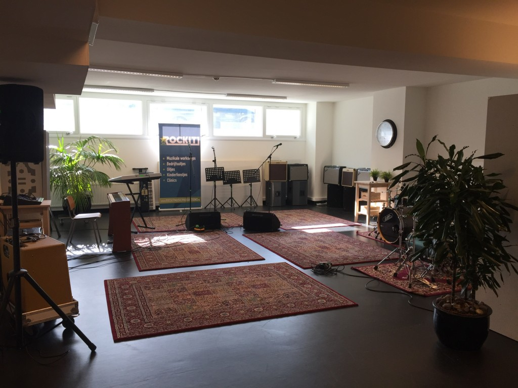 oefenruimte te huur den haag rockit music studio's