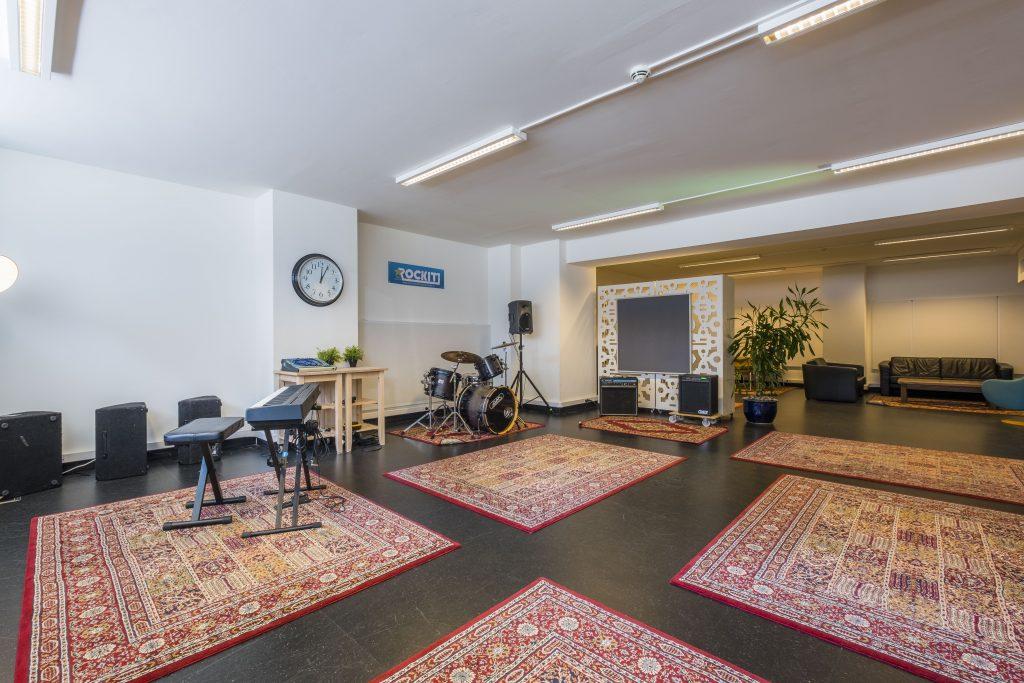 grote oefenruimte Den Haag ROCKIT Music Studio K.06